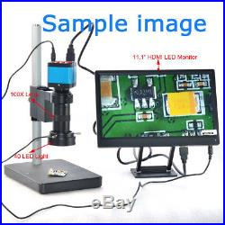 14MP 1080P HDMI USB C-mount Digital Industry Video Microscope Camera Zoom Lens