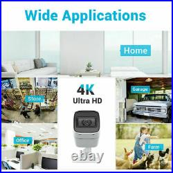 ANNKE 4pcs 8MP 4K Video Colour Night Vision CCTV Camera for Security System Kit