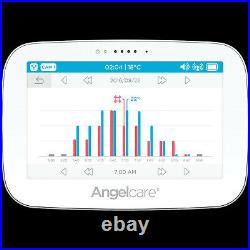 Angelcare AC417 Digital VIDEO MOVEMENT SOUND Baby Monitor & WIRELESS SENSOR PAD
