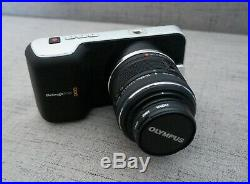 Blackmagic Pocket Cinema Camera with Olympus 12-42mm digital lens + accessories