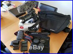 CANON EOS 70D 20.2MP DIGITAL SLR CAMERA With EF-S 18-135MM RODE VIDEO MIC + EXTRA