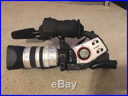 CANON XL2 3CCD DIGITAL VIDEO CAMCORDER used