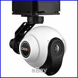CGO2+ 3-Axis Gimbal Camera with5.8GHz Digital Video Downlink, US