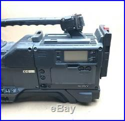 Camera Camcorder, SONY DSR-1P, SONY DXC-D30WSP DIGITAL VIDEO CAMERA, SONYViewFInder