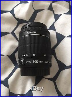 Canon EOS 700D 18.0MP Digital SLR Camera Two lens (EF-S 18-55mm & 75-300) Video