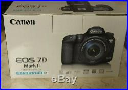 Canon EOS 7D Mark II 20.2MP Digital SLR Video Camera (Kit with 18-135mm IS) 6d