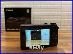 Canon PowerShot G7X 20.2MP/1080p Video Digital Camera with case & 64GB SD card