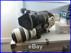 Canon XL1S Digital Video Camcorder + Extras MA-200 Fu-1000 System Case HC-3100