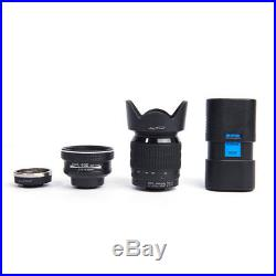 D7100 24X Telephoto Lens DSLR Digital Camera Video Camcorder Wide Angle 33MP