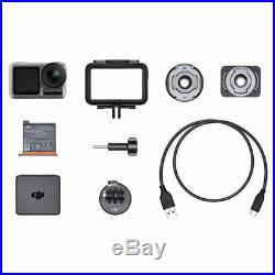 DJI Osmo Action Cam Digital Camera 4K HDR Video 2 Displays Adventurer's Bundle