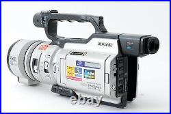 For Parts Sony DCR-VX2000 Digital Handy Camcorder Gray From Japan