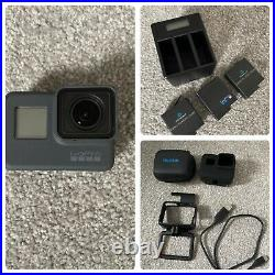 GoPro Digital Hero 5 Camcorder Black with 3 batteries and charger