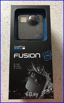 GoPro Fusion 360 Degree Digital Camera BRAND NEW Factory Sealed