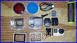 GoPro HERO 4 Digital Camcorder Silver + Accessories