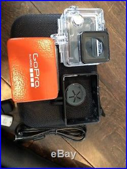 GoPro HERO 4 Digital Camcorder Silver GREAT DEAL, LOTS OF ACCESSORIES