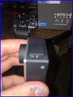 GoPro HERO 4 Silver Digital Camcorder With TONS of Accessories! GREAT CONDITION