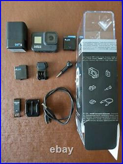 GoPro HERO 8 Black Digital Action Camera with spare battery and charger