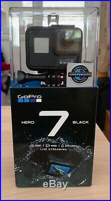 GoPro Hero7 Waterproof 4K Digital Action Camera with LCD Touch Screen-With stand