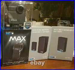 GoPro Max 360 Digital Action Camera Plus Battery Kit