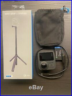 GoPro Max 360 Digital Action Camera With Tripod, Spare Battery