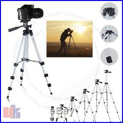 Mobile Phone Tripod Stand Android Digital Camera Video Holder Bag Mount Extend