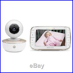 Motorola MBP855 Connect Video Baby Monitor + Portable Wi-Fi Remote Access Camera
