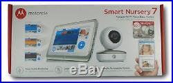 Motorola Smart Nursery 7 Dual Mode Baby Monitor with Camera and 7 Touch Screen
