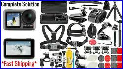 NEW DJI Osmo Action 4K Digital Camera + Complete Solution Accessories Bundle