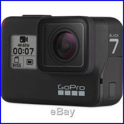 New GoPro HERO7 Black Waterproof Digital Action Camera with Touch Screen 4K HD