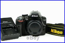 Nikon D3300 24.2 MP & HD Video Digital SLR Camera Shutter Count only 3,216
