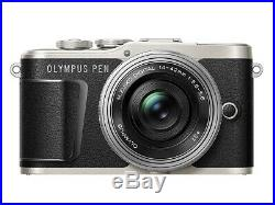 Olympus Pen E-PL9 16MP Digital Mirrorless Camera with 14-42mm Lens Black