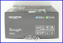 Olympus TG-6 Tough (12PM Photo, 4K Video, Waterproof) Compact Camera Red