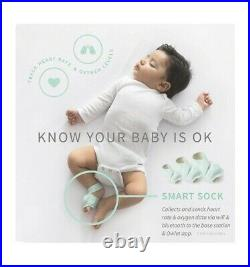 Owlet Baby Security Monitor Sound Duo Smart Sock 2 plus HD Video Baby Monitor