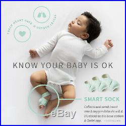 Owlet Smart Sock + Cam Video Monitor Bundle Heart Rate and Oxygen HD Video