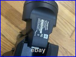 Panasonic AG-AF100P AVCCAM HD Digital Video Camera With Charger
