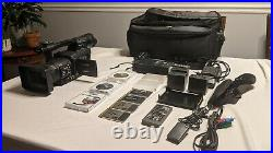 Panasonic AG-HPX170P HD Digital Camera with 4 P2 cards 3 batteries and P2 reader