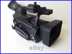Panasonic AG-HVX200AP 3CCD DVCPRO HD P2 Digital Video Camera 313 HRS OPERATION