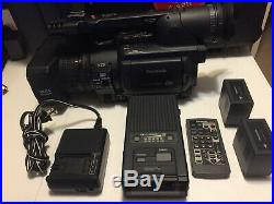 Panasonic AG-HVX200AP 3CCD DVCPRO HD P2 Digital Video Camera with Accessories