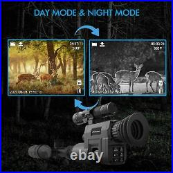 REXING Digital Infrared Night Vision Scope Camera with Video Recording