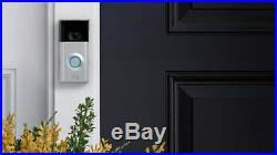 Ring Doorbell 2 Security Camera Motion Activated 1080p HD Video Built in WiFi