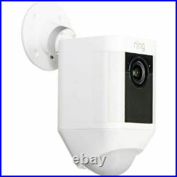 Ring Spotlight Cam Wired HD 1080p Outdoor Security Video Camera Two-Way Audio