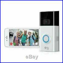 Ring Video Doorbell 2 1080P WiFi Security Camera with 18 in 1 Wallet Multitool