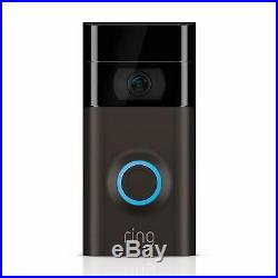 Ring Video Doorbell 2 Wi-Fi 1080p HD Camera with Motion Sensors BRAND NEW IN BOX