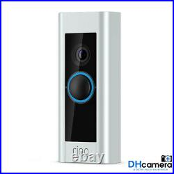 Ring Video Doorbell Pro 1080P Wi-Fi Hard Wired HD Camera with Night Vision/Alexa