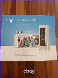 Ring Video Doorbell Pro Kit 1080p HD, Two-Way Talk, Wi-Fi, Motion Detection
