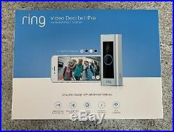 Ring Video Doorbell Pro WiFi 1080P HD Camera BRAND NEW FACTORY SEALED