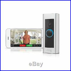 Ring Video Doorbell Pro WiFi 1080P HD Camera with Night Vision 4 Face Plates