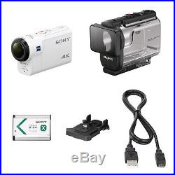 SONY Digital 4K Video Camera Recorder Action Cam FDR-X3000 White NEW