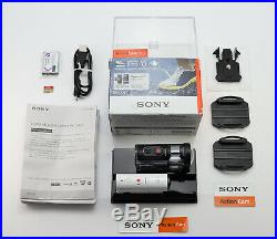 Sony Action Cam Hdr-az1 Camcorder Boxed Digital Video Action Camera & 64gb Card