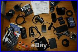 Sony DCR-PC120E Digital Mini DV Camcorder with Accessories and GoPro Hero